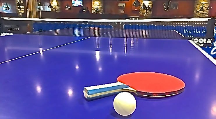We Have Four Professional Butterfly Ping Pong Tables With Larger Space  Allocations For Players At Each End Of The Table. Great For Relaxing,  Improving Your ...